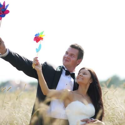 zdjęcia ślubne w plenerze- tatarak foto studio